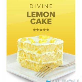 Divine Lemon Cake E-Liquid
