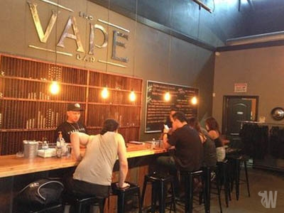 What are Vape bars and what is their purpose?