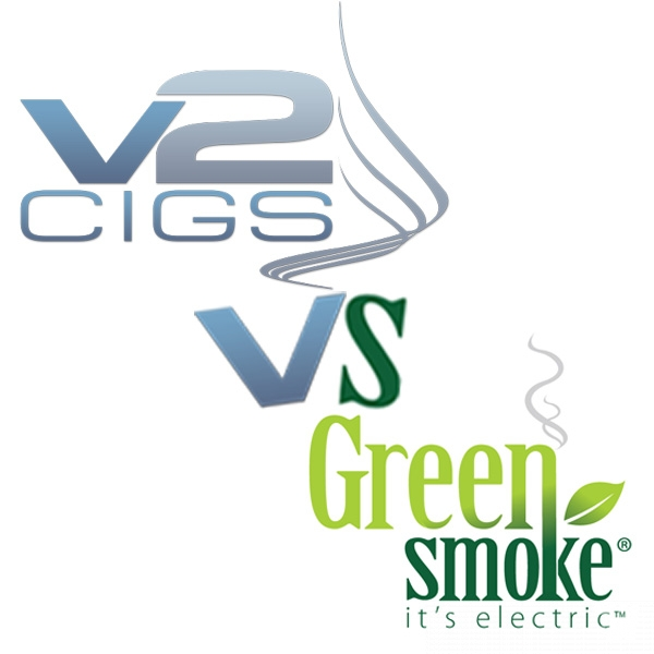 A comparison between two e-cigarette giants – V2Cigs and GreenSmoke